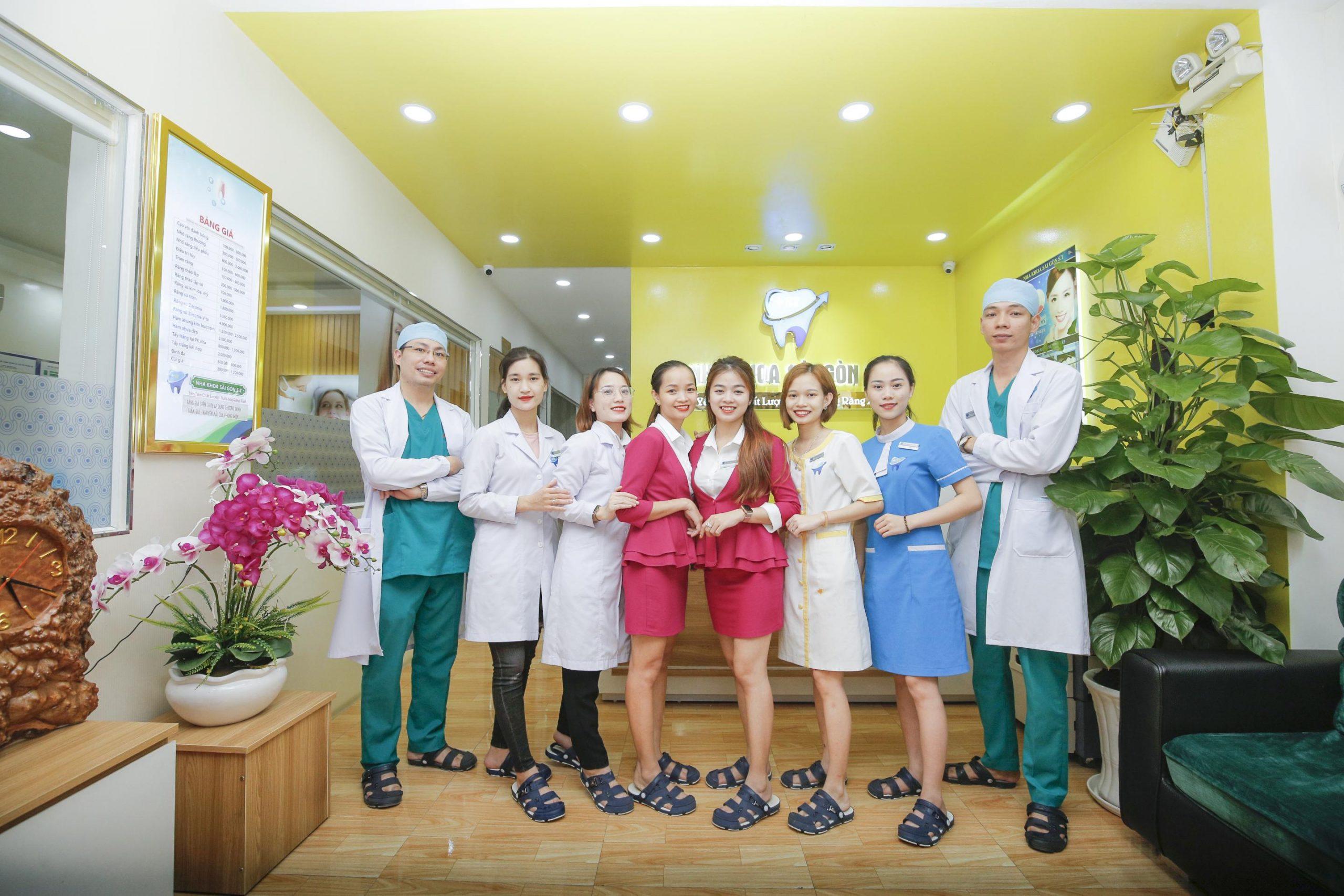 Nha khoa Sài Gòn ST kỹ lưỡng trong khâu tuyển chọn đội ngũ nhân viên, y bác sĩ chuyên môn