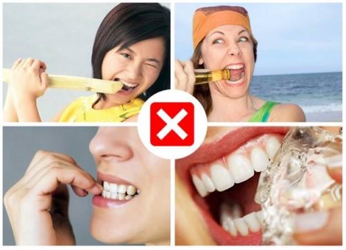 Bạn nên chú ý chăm sóc răng bị mẻ tốt hơn để tránh tình trạng răng vỡ lớn