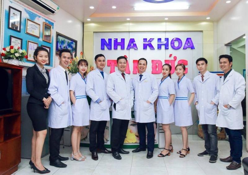 Nha khoa Tâm Đức sở hữu đội ngũ y bác sĩ giàu kinh nghiệm