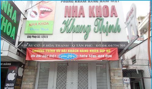 Nha khoa Khang Thịnh - Địa chỉ nha khoa uy tín tại quận Tân Phú