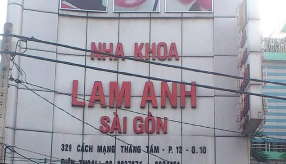 Nha Khoa Lam Anh - Địa chỉ nha khoa uy tín tại quận 10