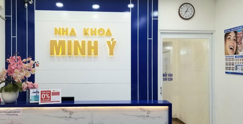 Nha khoa Minh Ý - Địa chỉ nha khoa uy tín tại quận Tân Bình