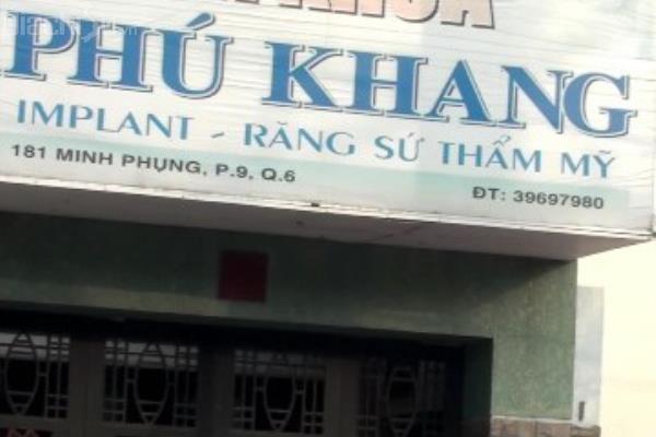 Nha khoa Phú Khang