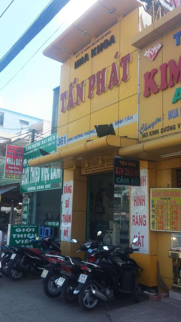 Nha khoa Tấn Phát - Cơ sở nha khoa uy tín tại quận Bình Tân